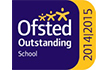 Ofsted Outstanding 2014-2015 award image