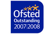 Ofsted Outstanding 2007/2008 award image