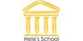 Hele's School logo