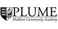 Plume, Maldon's Community Academy logo