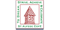 St Alfege with St Peter's Church of England Primary School logo