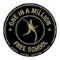 One In A Million Free School logo