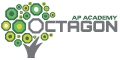The Octagon AP Academy logo