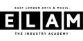 East London Arts & Music Academy (ELAM) logo