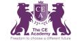 The CE Academy logo