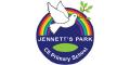Jennett's Park CE Primary School logo